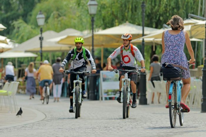Brezplačna kolesarska tura po Ljubljani