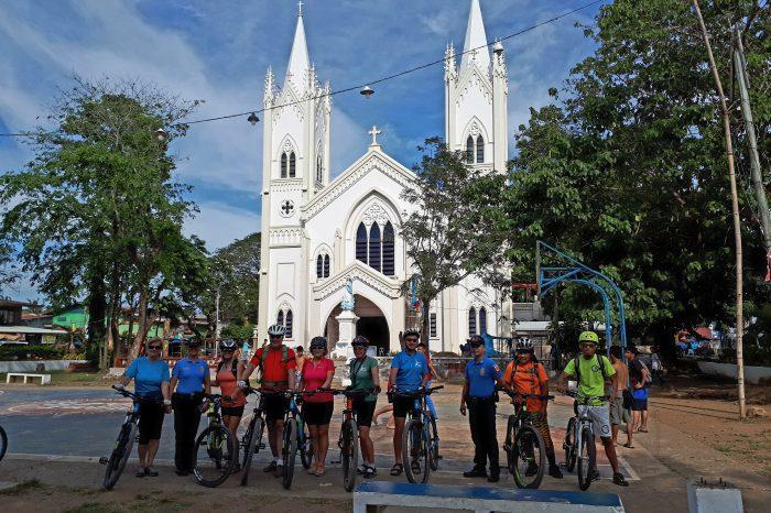 Kolesarski izlet po Puerto Princesi